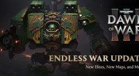 Два дня можно поиграть в Warhammer 40,000: Dawn of War III http://store.steampowered.com/app/285190/Warhammer_40000_Dawn_of_War_III/ Смотрите также: Моды для игр.